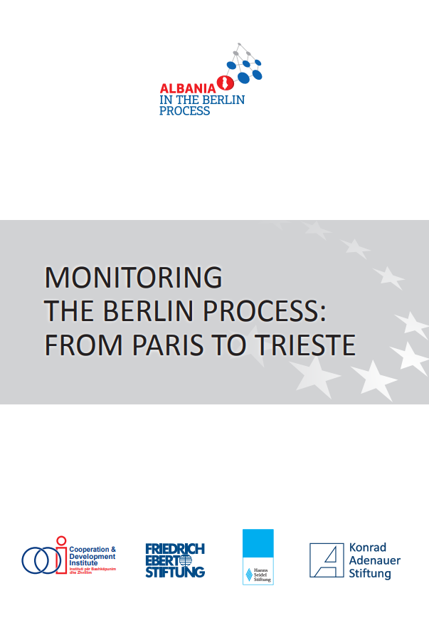 Monitoring the Berlin Process: From Paris to Trieste