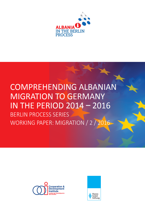 Comprehending Albanian migration to Germany: 2014-2016