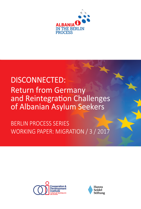 Disconnected: Return from Germany and Reintegration Challenges of Albanian Asylum Seeker