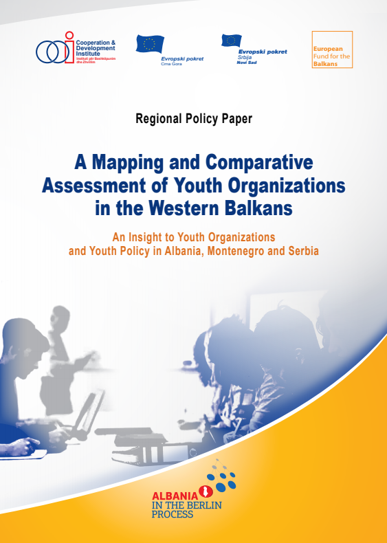 A Mapping and Comparative Assessment of Youth Organizations in the Western Balkans