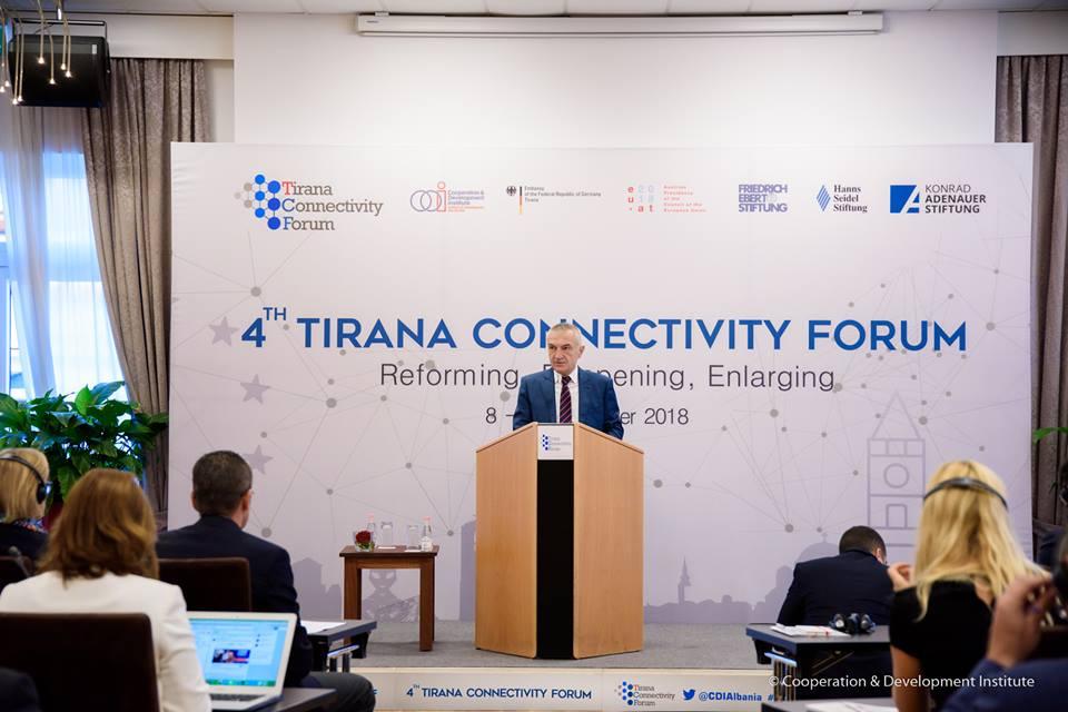 TCF18 Day 2 starts with the Keynote Addresses by the President of the Republic of Albania H.E. Ilir Meta and the EU Ambassador H.E. Luigi Soreca