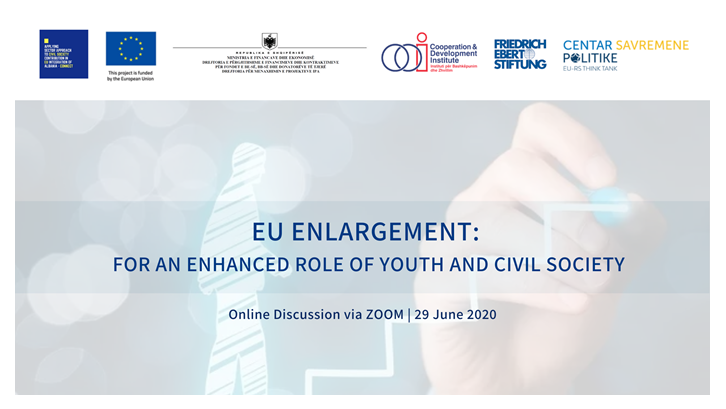 EU Enlargement: For an enhanced role of youth and civil society