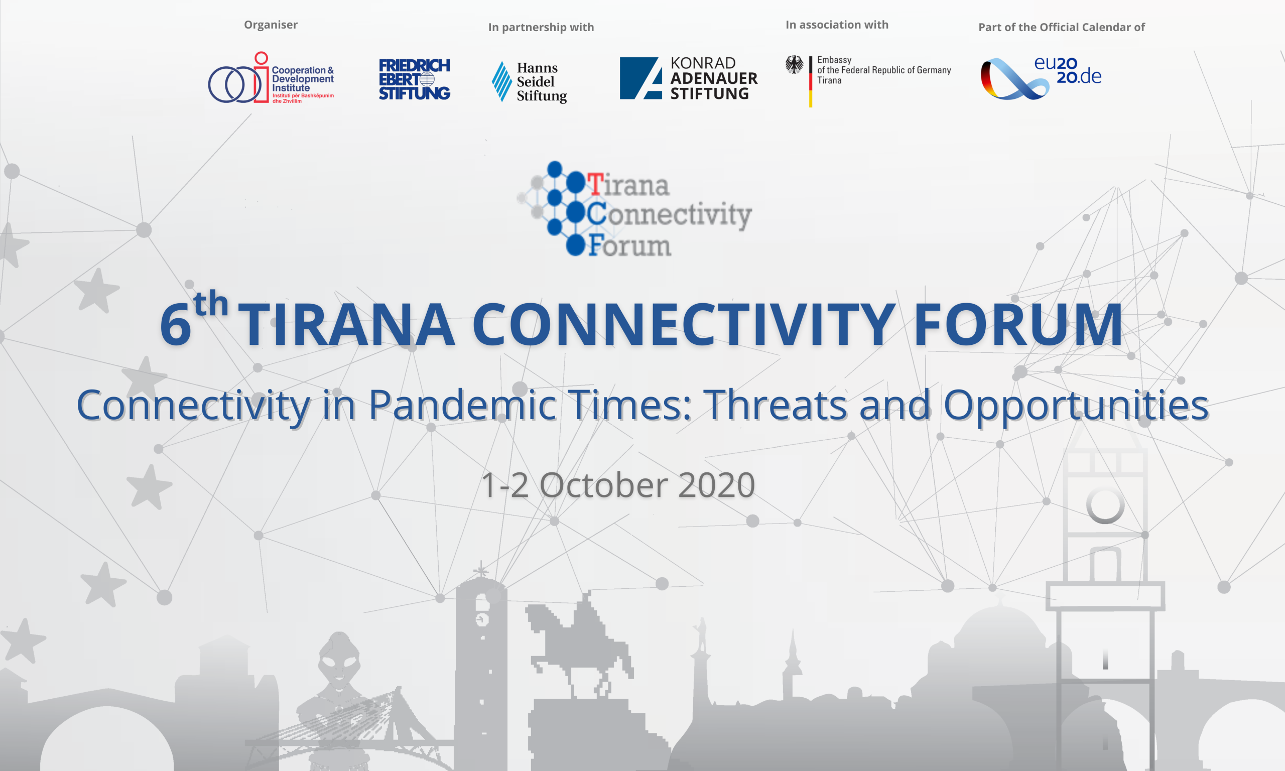 The 6th edition of TCF to take place online on 1-2 October 2020
